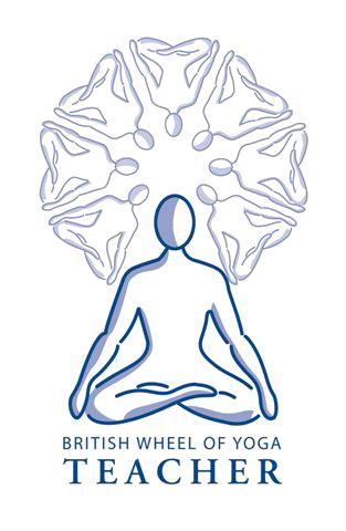 British Wheel of Yoga teacher logo